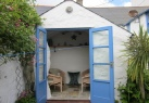 Summerhouse. Cornwall cottage st michael's mount, dog friendly self catering accommodation